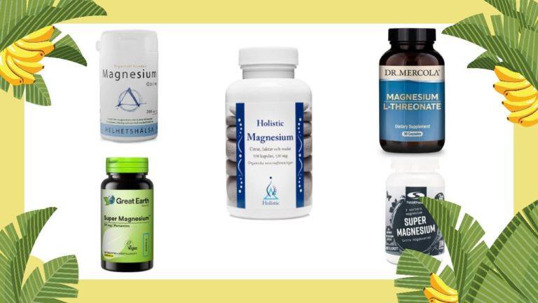Magnesium Bäst i test 🥇🥈🥉→ Stor genomgång