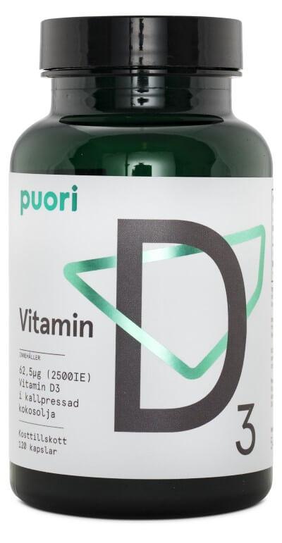 Vitamin D3 - Puori
