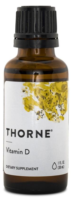 D-vitamin flytande 500 IE - Thorne